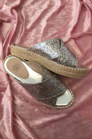 Flatform Cruise Glitter Silver