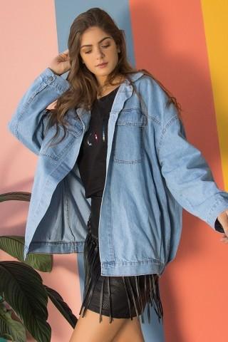 Jaqueta Jeans The Edge Of Glory