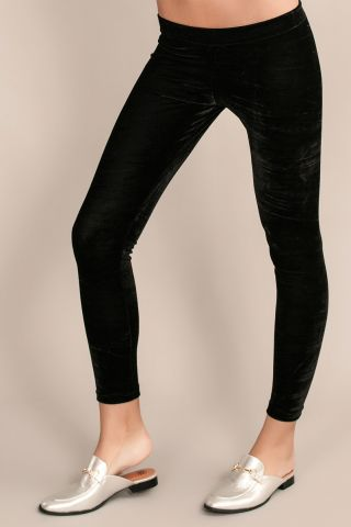 Legging Kourtney Velvet