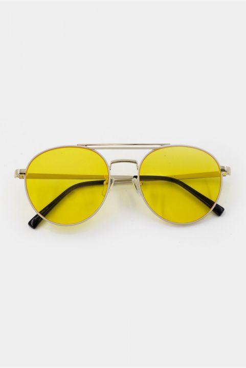 Oculos Aviador Drive Amarelo