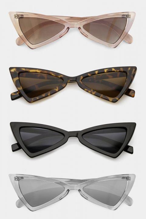 Oculos Gatinho Triangle Vintage