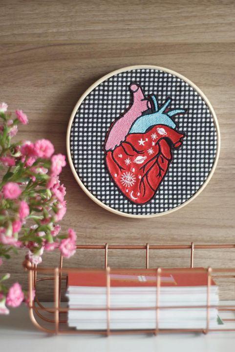 Quadrinho Decor Coração