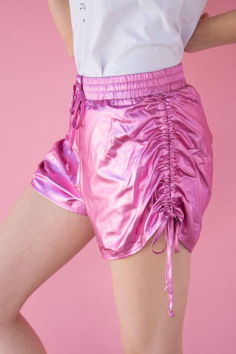 Shorts Metalizado Punky