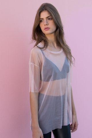 T-shirt Dress Tule PNK