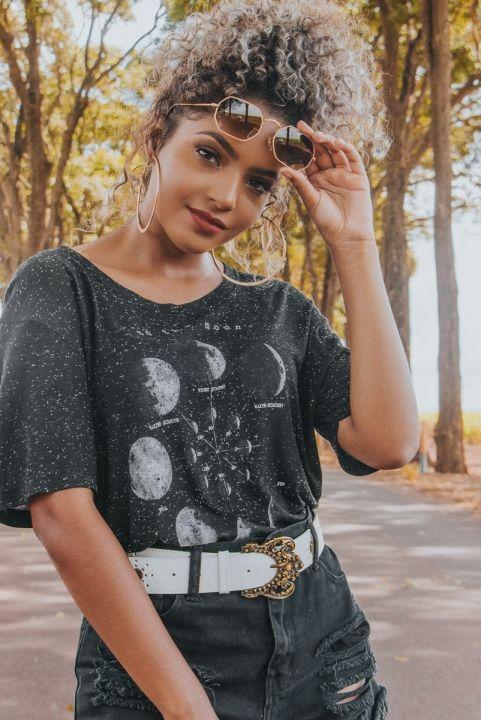 T-shirt Fases da Lua MOON