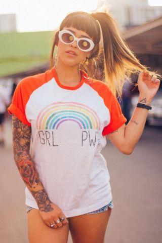 T-shirt GRL PWR