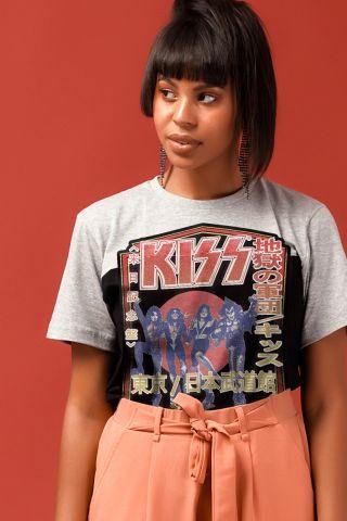 T-shirt Kiss Destroyer