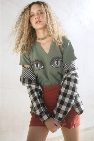 T-shirt LoveCat Eyes