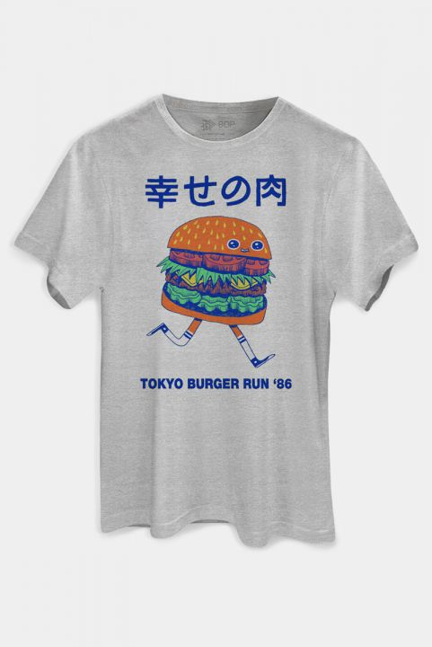 T-shirt PLUS Burger Run