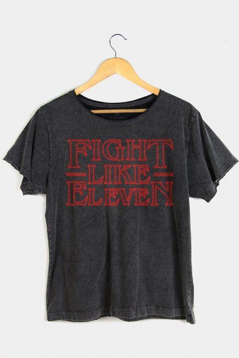 T-shirt PLUS Fight Like Eleven | Stranger Things