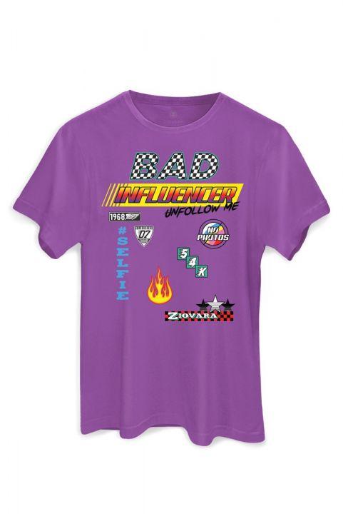 T-shirt PLUS Race BAD INFLUENCER