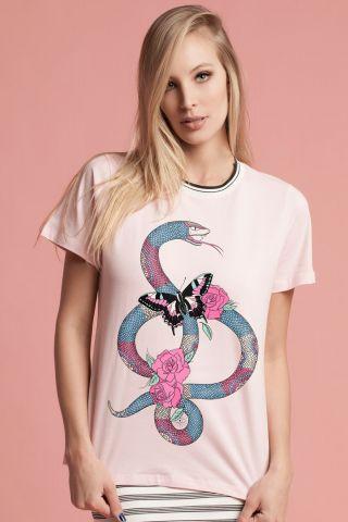 T-shirt Radiant Snake