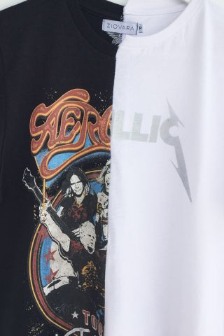 T-shirt REUZIO | aero + metal | Tamanho: P