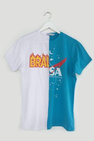 T-shirt REUZIO | bra + nasa | Tamanho:  P