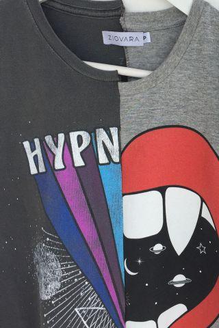 T-shirt REUZIO | hypno + fight | Tamanho: P