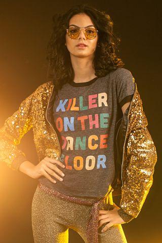 T-shirt Ringer Dancefloor