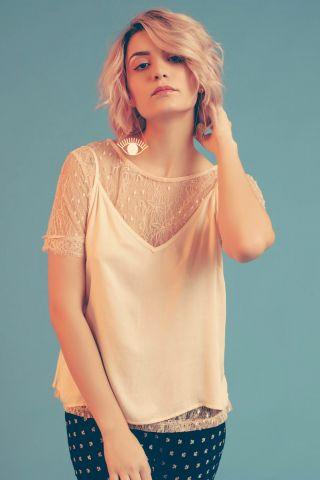 T-shirt + Sliptop Camellia