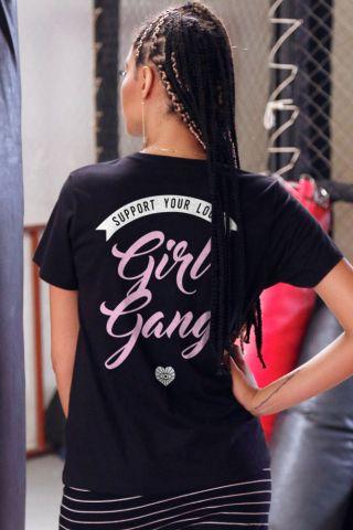 T-shirt Support Girl Gang