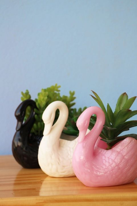 Vaso Decor - Mini Cisne