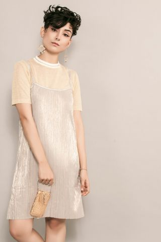 Vestido CELEB Gold