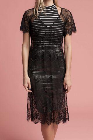 Vestido Renda Noir