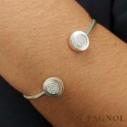 Bracelete Prata 925 Cravejado com Zircônia
