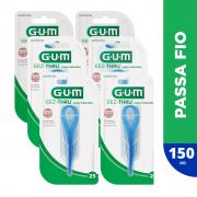 Passador de Fio Dental | GUM® Original | 150 unidades + 6 estojos