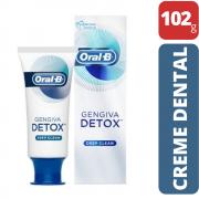 Creme Dental Detox Deep Clean Oral B (Limpeza Profunda)