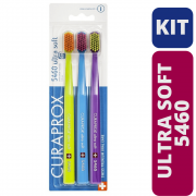 Escova Dental Curaprox 5460 - Trio Pack