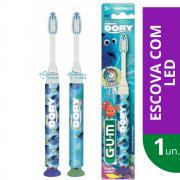 Escova Dental Infantil DORY com LED (GUM)