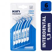 Escova Interdental KIN - CONICO 1,3 MM - 6 unidades