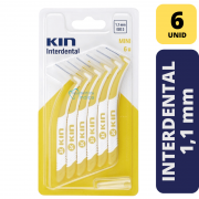 Escova Interdental KIN - MINI 1,1 MM - 6 unidades