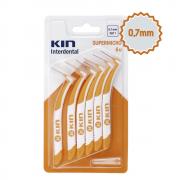 Escova Interdental KIN - SUPERMICRO 0,7 MM - 6 unidades