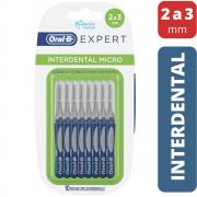 Escova Interdental Micro Oral-B Expert (Cônica 2 a 3 mm) - 10 unidades