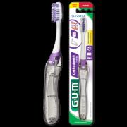 Escova Dental Ortodôntica para viagem (GUM)