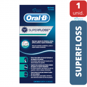 Fio Dental SuperFloss Oral B - 50 unidades
