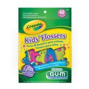 Flosser Infantil com cabo Crayola  (GUM)