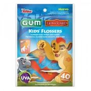 Flosser Infantil Lion Guard (GUM) - Fio Dental infantil com haste