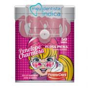 Flosser Infantil Penelope Charmosa - Fio Dental Com Haste