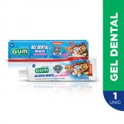 Gel Dental Infantil Patrulha Canina   50 grs  GUM®   1.100ppm Flúor