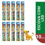 GUM - Combo Escova LION Com Led ( 10 unidades)
