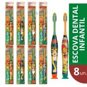 Kit 8x Escova Dental Infantil Rei Leão - Manual