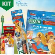 Kit Higiene Oral Infantil Rei Leão