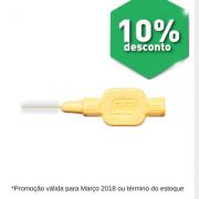 Interdental EXTRA Macia 0,70mm - Amarela Clara (TEPE)