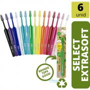 KIT: 6 Escovas Select Extra SOFT (TEPE)
