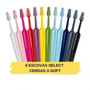 KIT: 6 Escovas Select Extra SOFT (TEPE)