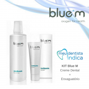 Kit Blue M: Creme dental + Enxaguatório