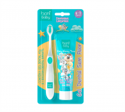 Kit Baby Boni Looney Tunes - (Escova Macia + gel 40g)