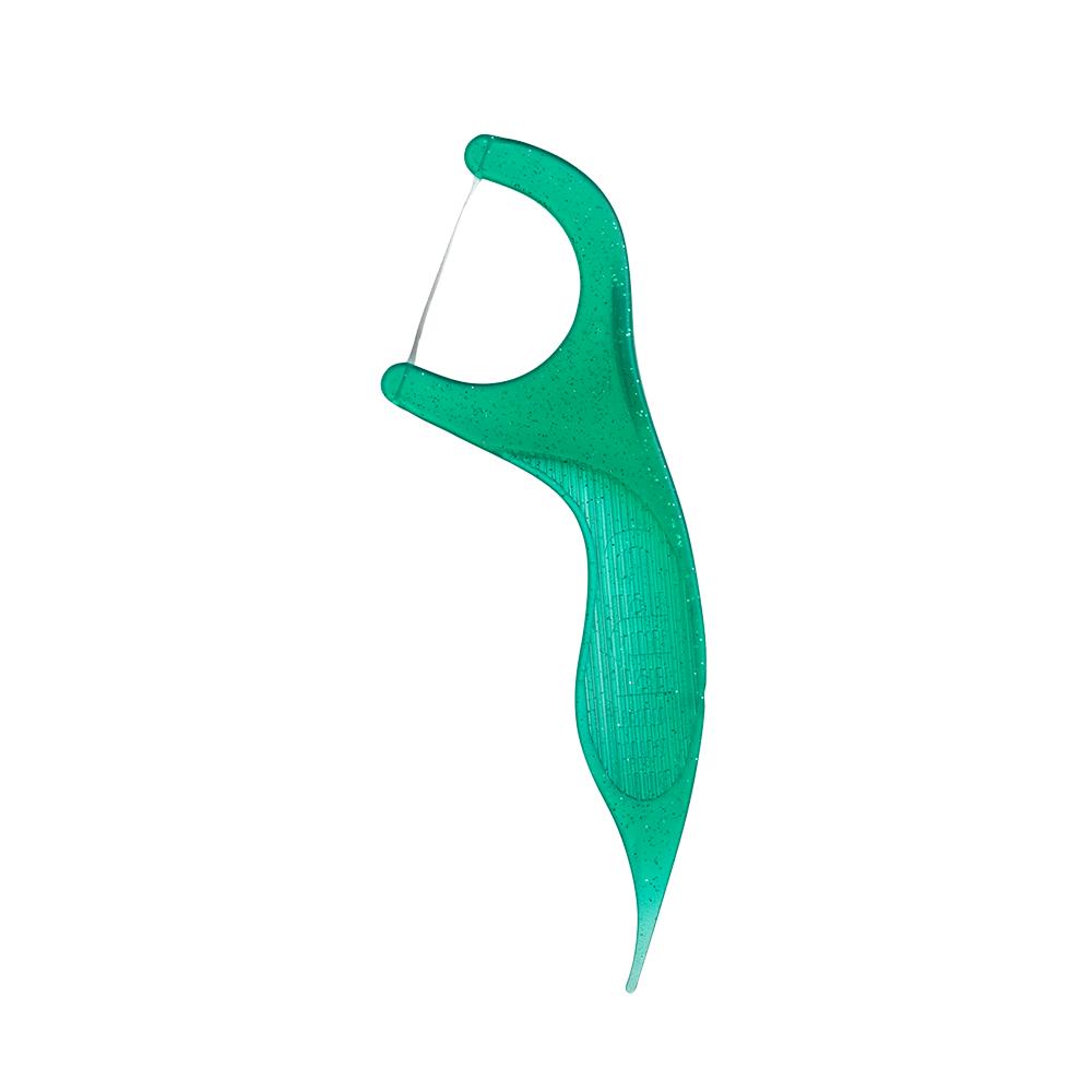 Flosser Original Verde  GUM® Fio Dental Adulto com Cabo   200 unidades