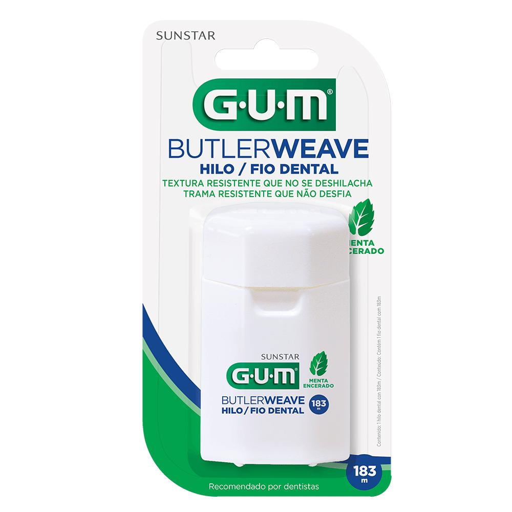 4X Fio Dental Adulto ButlerWeave GUM® - 183 mts